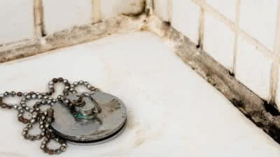 Mould in bathroom